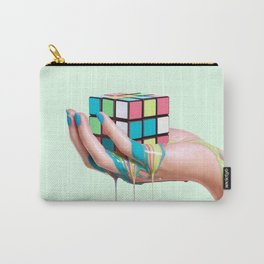 MELTING RUBIKS CUBE Carry-All Pouch