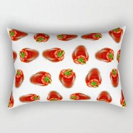 Red peppers pattern Rectangular Pillow