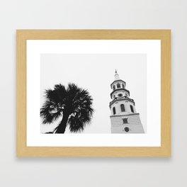 palm x steeple Framed Art Print
