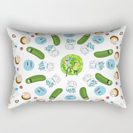 Rick & Morty Mandala Rectangular Pillow
