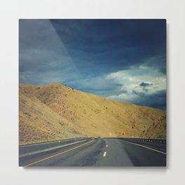 On the Highway Metal Print