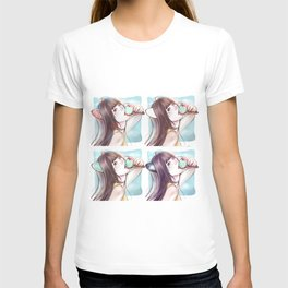 Hanyoko mixed*GirlsCollection* T-shirt