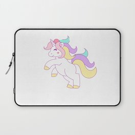The Prettiest Unicorns Are Born In July Laptop Sleeve