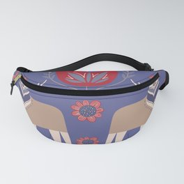 Scandinavian Winter Pattern #society6 #buyart Fanny Pack
