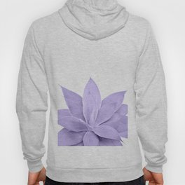 Ultra Violet Agave on White #1 #tropical #decor #art #society6 Hoody