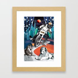 Divination Tarot: Chariot Framed Art Print