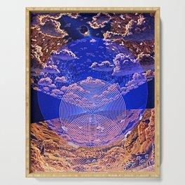 Manifestation Of A New Earth v2 Serving Tray