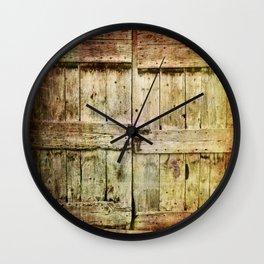 460 Old Barn Door Wall Clock