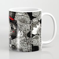 ace Mugs featuring Ace by Anca Chelaru