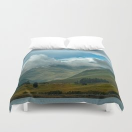 Cloudy afternoon in Connamara Duvet Cover