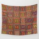 Azeri Verneh  Antique Karabagh Caucasian Rug Print by vickybragomitchell
