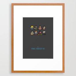 Mega Final Fantasy VII Framed Art Print