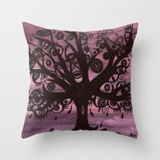 EYE TREE Throw Pillow