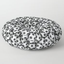 Soccer balls Floor Pillow