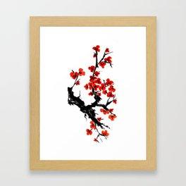 Orange Blossoms Framed Art Print