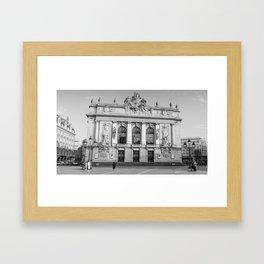 Opéra de Lille, France Framed Art Print