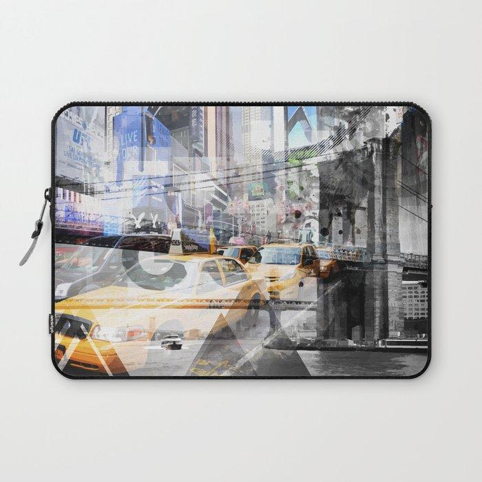 New York City | Geometric Mix No. 9 Laptop Sleeve