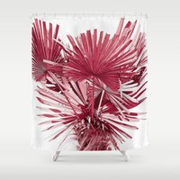 palm Shower Curtains featuring PALM by • PASXALY •