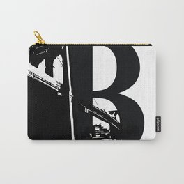 Be As In Brooklyn Carry-All Pouch