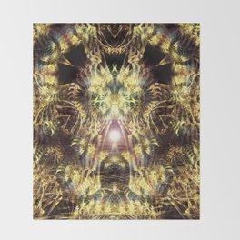 DMT Shaman Visions Throw Blanket