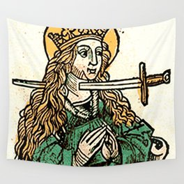 Saint Lucy Wall Tapestry