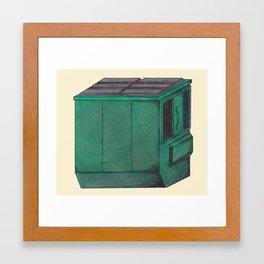 Dumpster #3 Framed Art Print