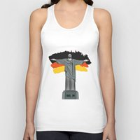 brasil Tank Tops featuring Brasil 2014 by andy551