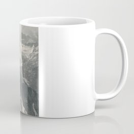 Swiss Mountain Panorama Litho Coffee Mug