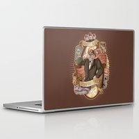 gravity falls Laptop & iPad Skins featuring Gravity Falls - Stan the Man by animatenowsleeplater