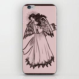 Angel-dusty rose iPhone Skin
