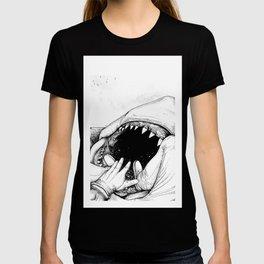 Jaws : Quint Death T-shirt