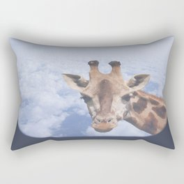 Yeah yeah, for sure there is a funny giraffe...  #decor #society6 #buyart Rectangular Pillow