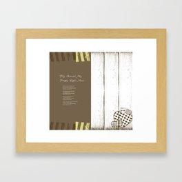 Spread 6 Framed Art Print