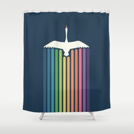 The Sky Is Not The Limit Shower Curtain