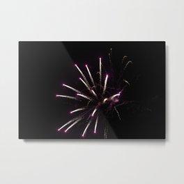 Violet Combustion!! Metal Print