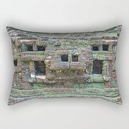 Mayan Ruins Lamanai, Belize Rectangular Pillow