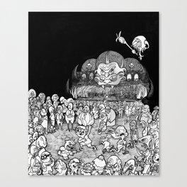Strange Ones: S.M.A.R.G Concert Canvas Print