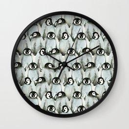 Cute penguins Wall Clock