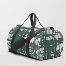 NYC Walls (zelen) Duffle Bag
