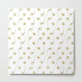 Dancing Daffodils Metal Print