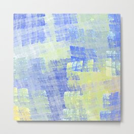 Abstract Fabric Designs 4 Duvet Covers & Pillows & MORE Metal Print