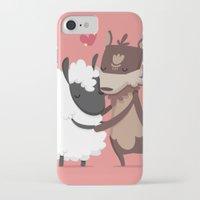 lamb iPhone & iPod Cases featuring Lamb by Alfonso Cervantes