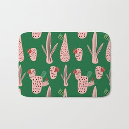 Mid Mod Cactus Green Bath Mat