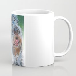 Spinone Italiano dog art portrait from an original painting by L.A.Shepard Coffee Mug