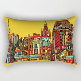 Sound of the city Rectangular Pillow