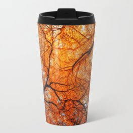 Sky Roots in Forest Red Travel Mug