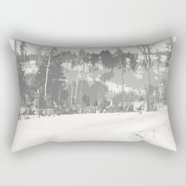 Once upon a time -winter Rectangular Pillow