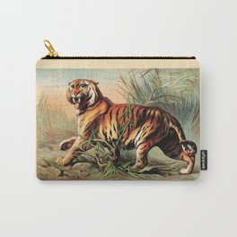 Vintage Bengal Tiger Carry-All Pouch