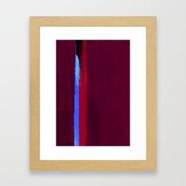 Teal Dream Abstract Framed Art Print