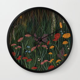 Meadow 1 Wall Clock